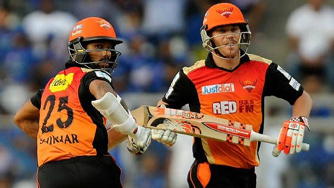 IPL Auction 2019 SRH: Auction Purse, Players Released and Retained For Sunrisers Hyderabad