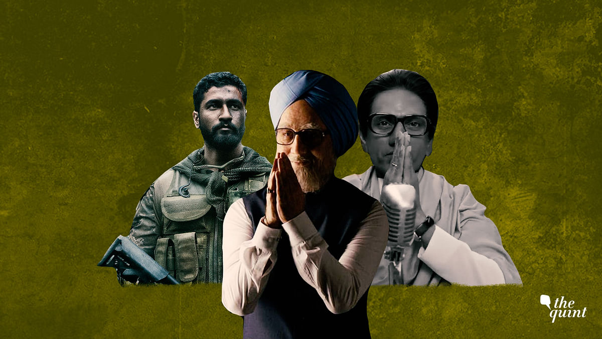 There are at least five films in the offing with a political message – or a politician for protagonist.