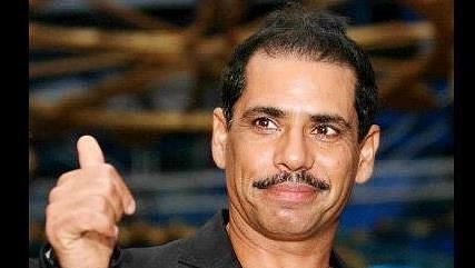 """Robert Vadra alleged that government departments were operating on an """"agenda to besmirch"""" his reputation."""