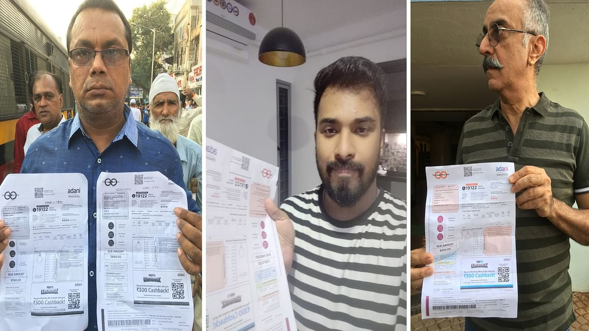 Residents of Mumbai's suburbs allege that their bills have been inflated by over 50 percent since Adani Electricity  took over power distribution.