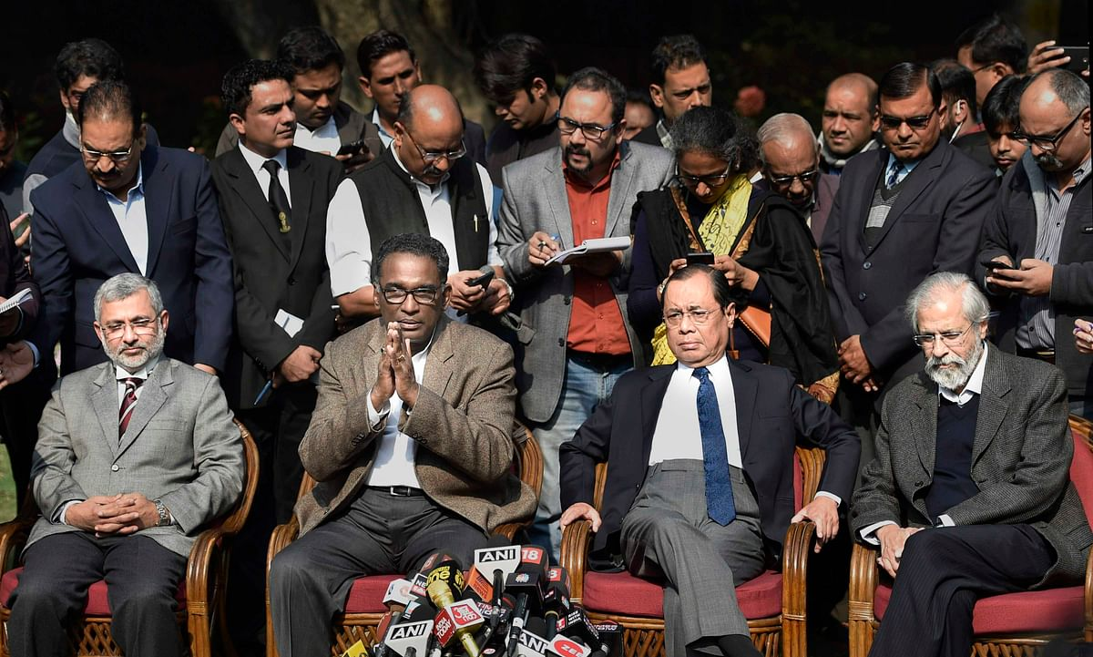4 Supreme Court judges speak out against the Chief Justice of India