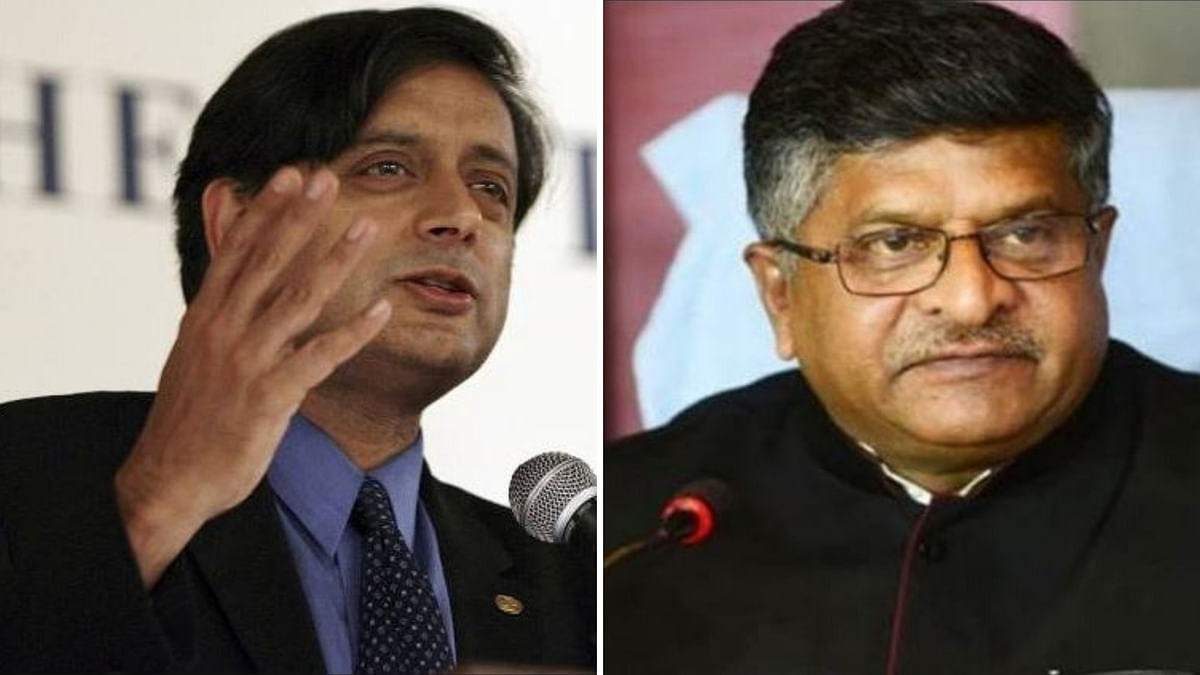 Law Min Withdraws Comment Calling Shashi Tharoor a Murder Accused