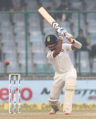 Cheteshwar Pujara. (File Photo: Surjeet Yadav/IANS)