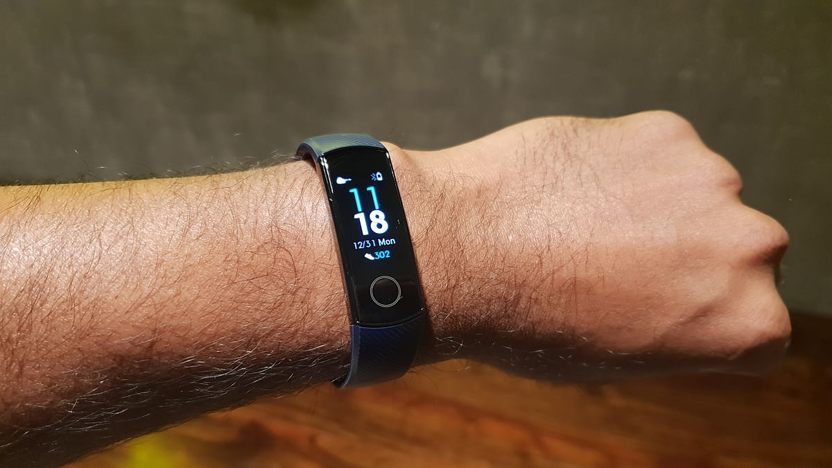 The Honor Band 4 comes with an AMOLED display.