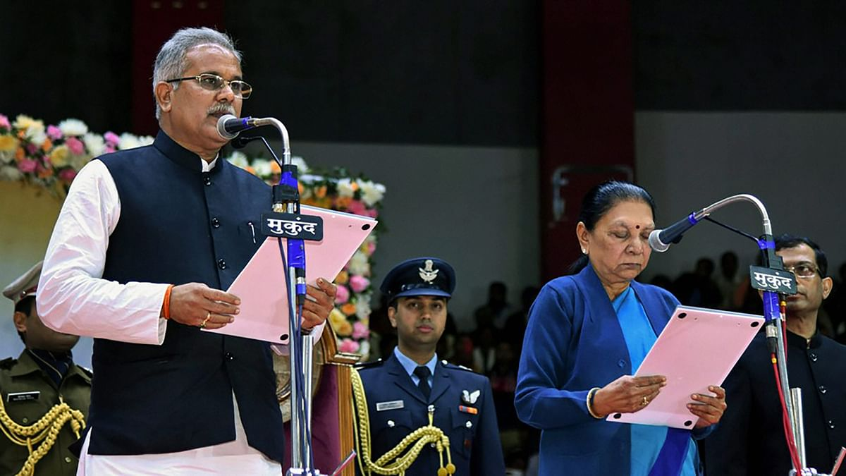 Chhattisgarh: Bhupesh Baghel Takes Oath as New Chief Minister