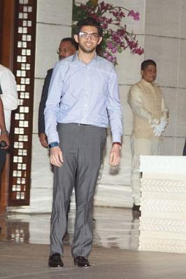 Yuva Sena chief Aditya Thackeray. (Photo: IANS)