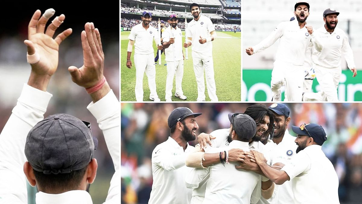 India beat Australia by 137 runs to claim their first Test win at Melbourne since 1981 and retain the Border-Gavaskar Trophy.