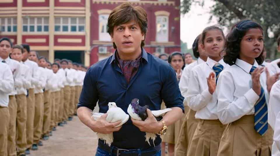Shah Rukh Khan in a still from <i>Zero</i>.&nbsp;