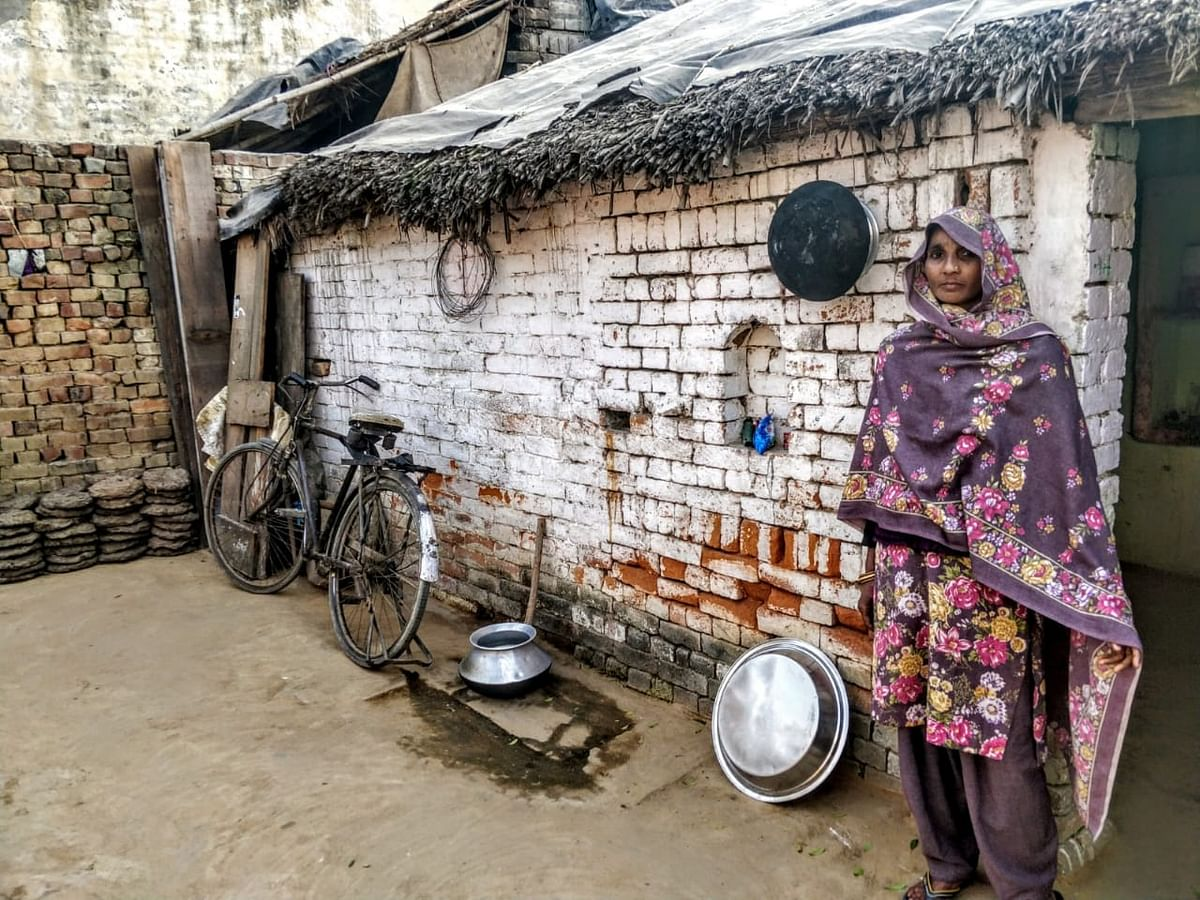 Bina Parveen is very poor and says she can't just take off from the village despite how unsafe she feels.