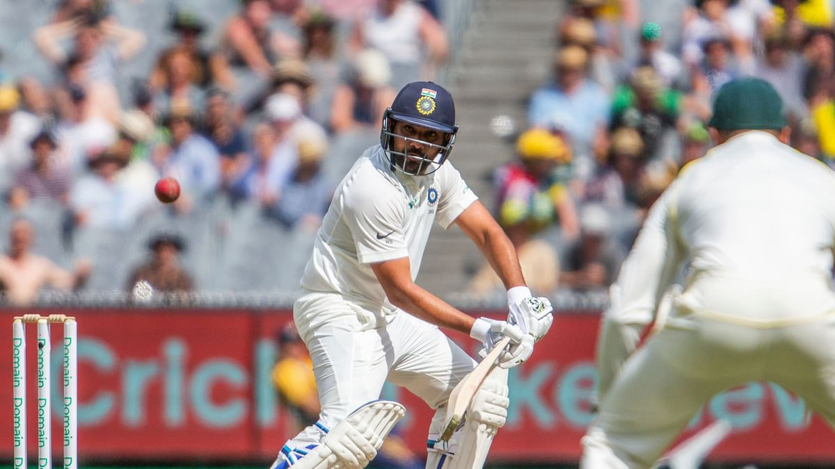 Twitter users celebrate Rohit Sharma's half century on Day 2 in Melbourne.