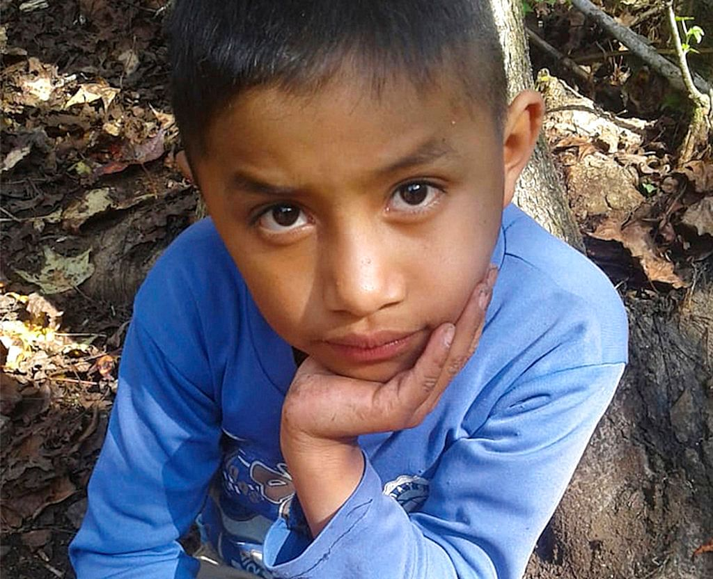 This file photo provided by Catarina Gomez on 27 December 2018, shows her stepbrother Felipe Gomez Alonzo, near her home in Yalambojoch, Guatemala.