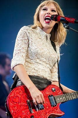Taylor Swift. (Credit Image: © Jeff Blake/MCT/ZUMAPRESS.com)