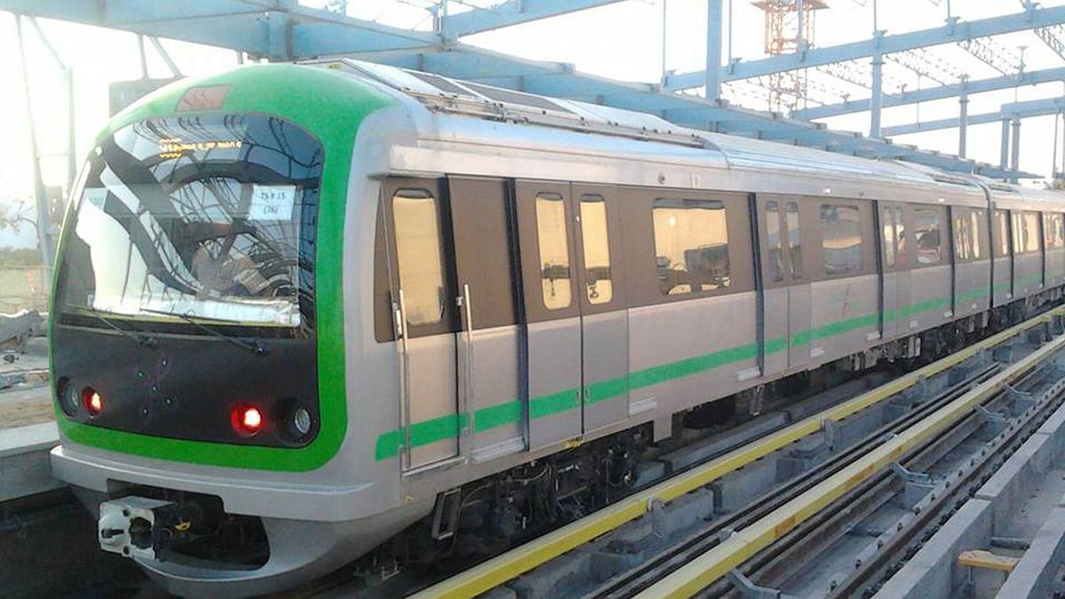 No Namma Metro From MG Road to Indiranagar From 28-30 December