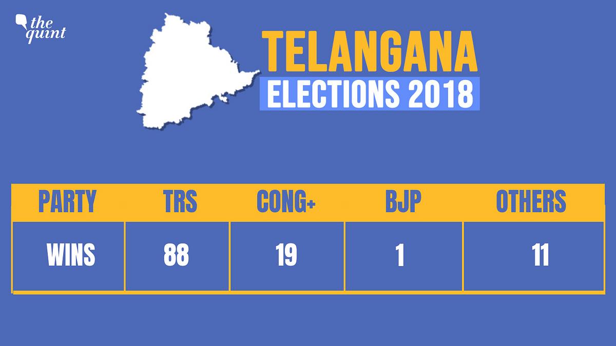 K Chandrasekhar Rao Takes Oath As Telangana Chief Minister