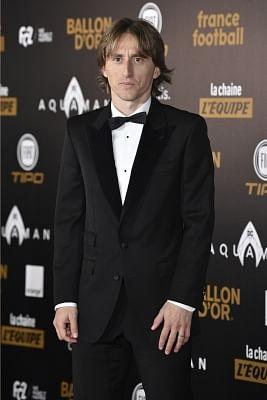 Luka Modric. (Xinhua/Jack Chan/IANS)