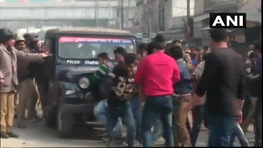This is the third time that police personnel have been attacked in Uttar Pradesh in December.