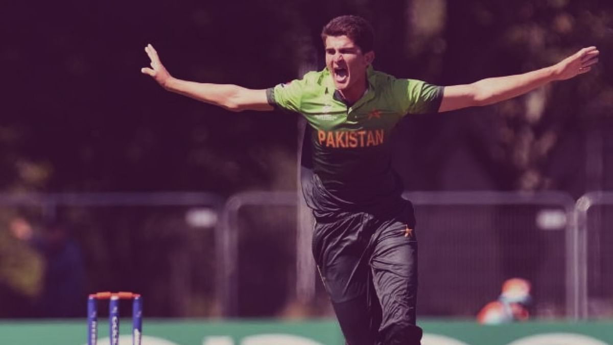 File photo of Shaheen Afridi from the Under-19 World Cup in New Zealand earlier this year.