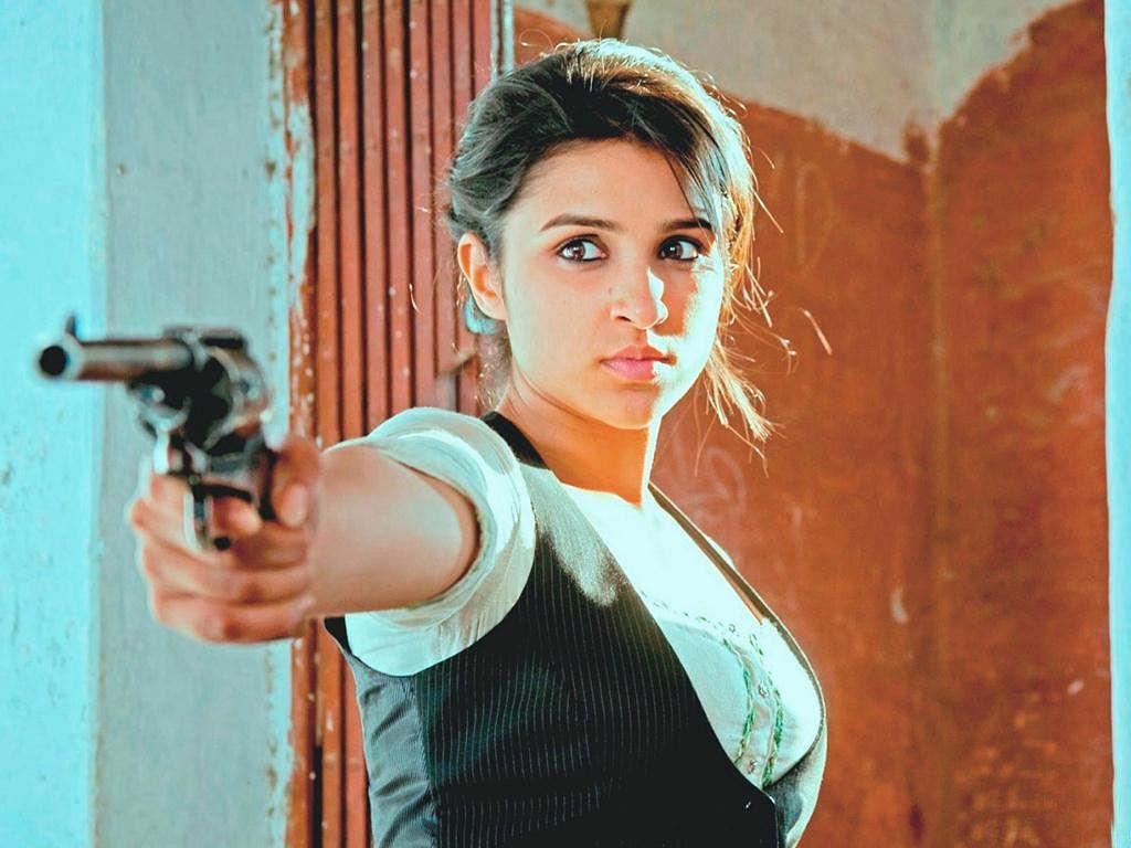 Parineeti Chopra as the feisty Zoya in<i> Ishaqzaade</i>.