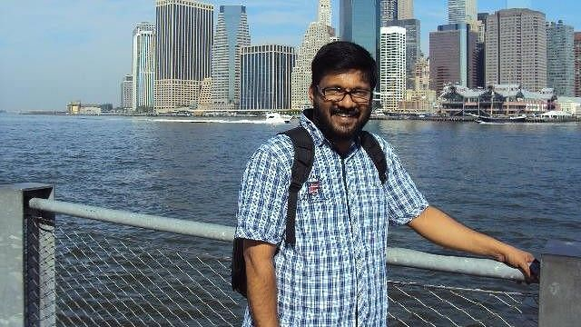 Prasad Pannian was removed as the HOD after he put up a Facebook post condemning the arrest of a research scholar.