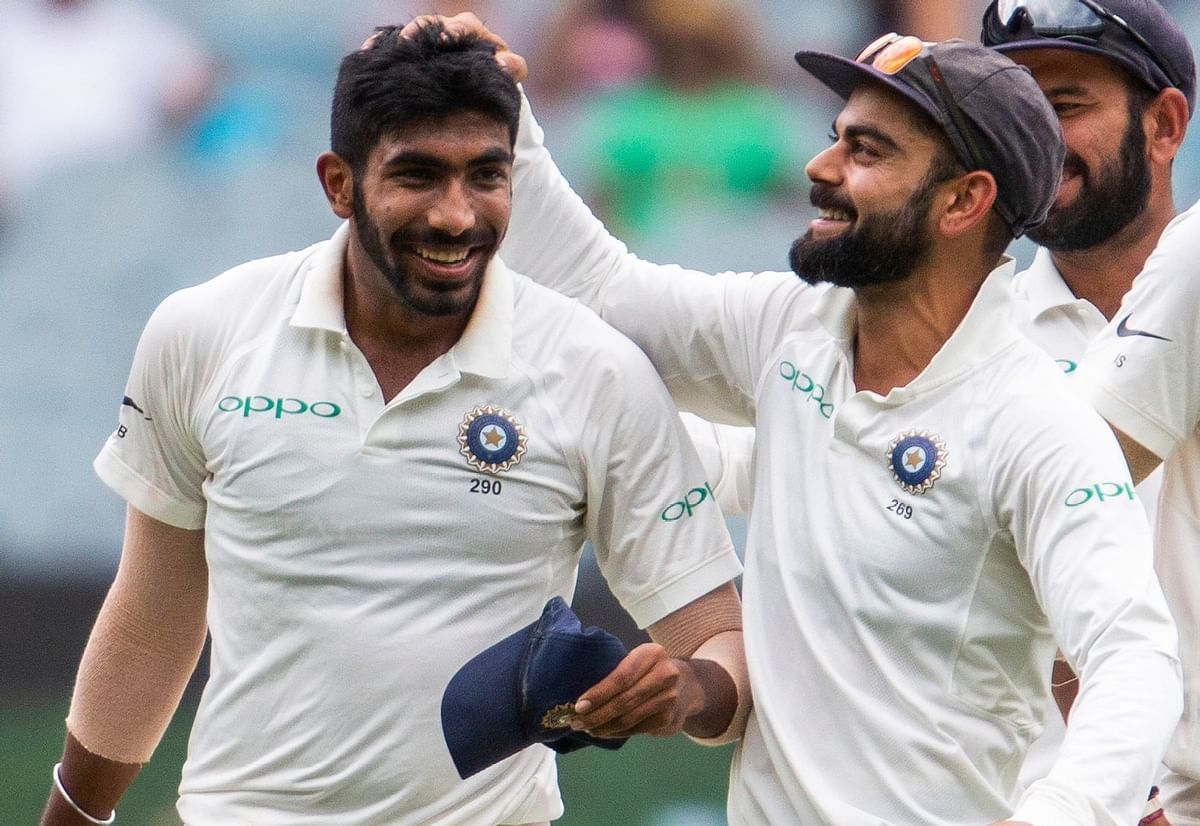Jasprit Bumrah made his test debut in 2018 under Virat Kohli and has emerged as the world's best bowler in the format this year.