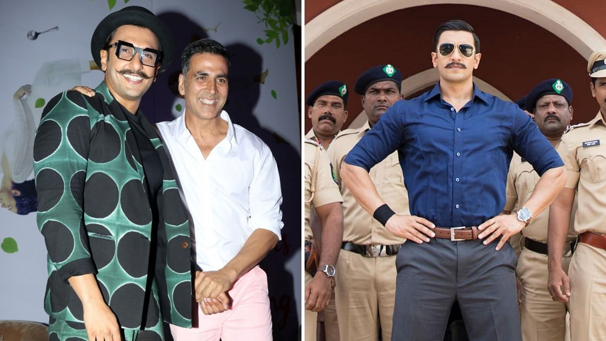 Akshay Kumar is to make a cameo in Ranveer Singh-starrer <i>Simmba</i>.