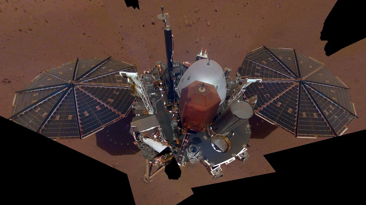 NASA Releases InSight's First Selfie From Mars
