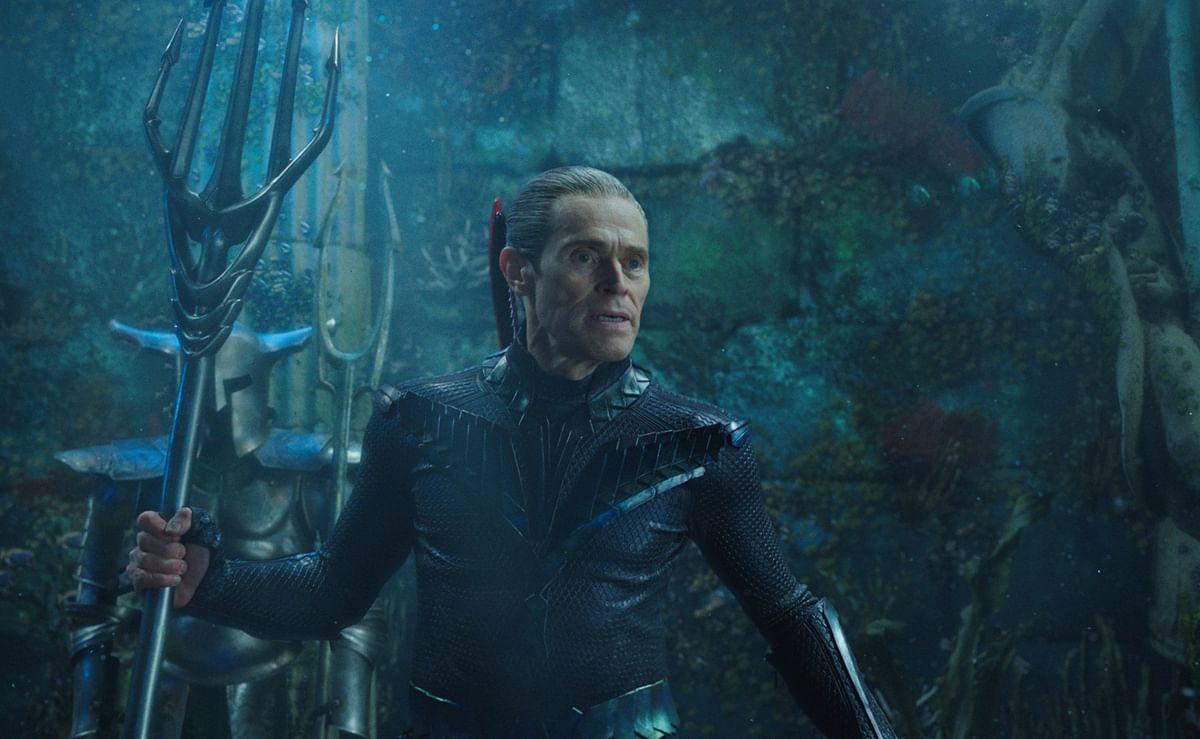 Willem Dafoe as Vulko in <i>Aquaman.</i>