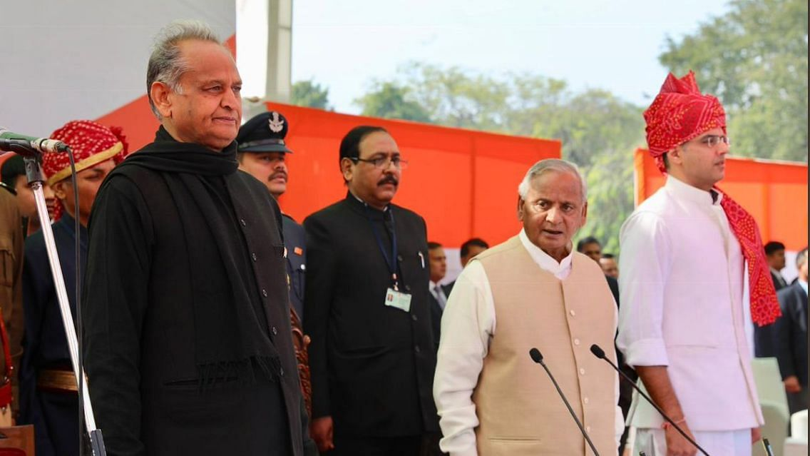 Ashok Gehlot, Sachin Pilot Sworn-In As Rajasthan's CM & Deputy CM