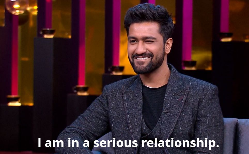 Vicky Kaushal is in a serious relationship