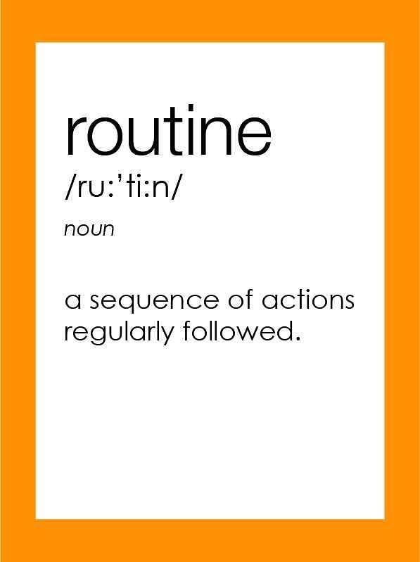 'Routine'