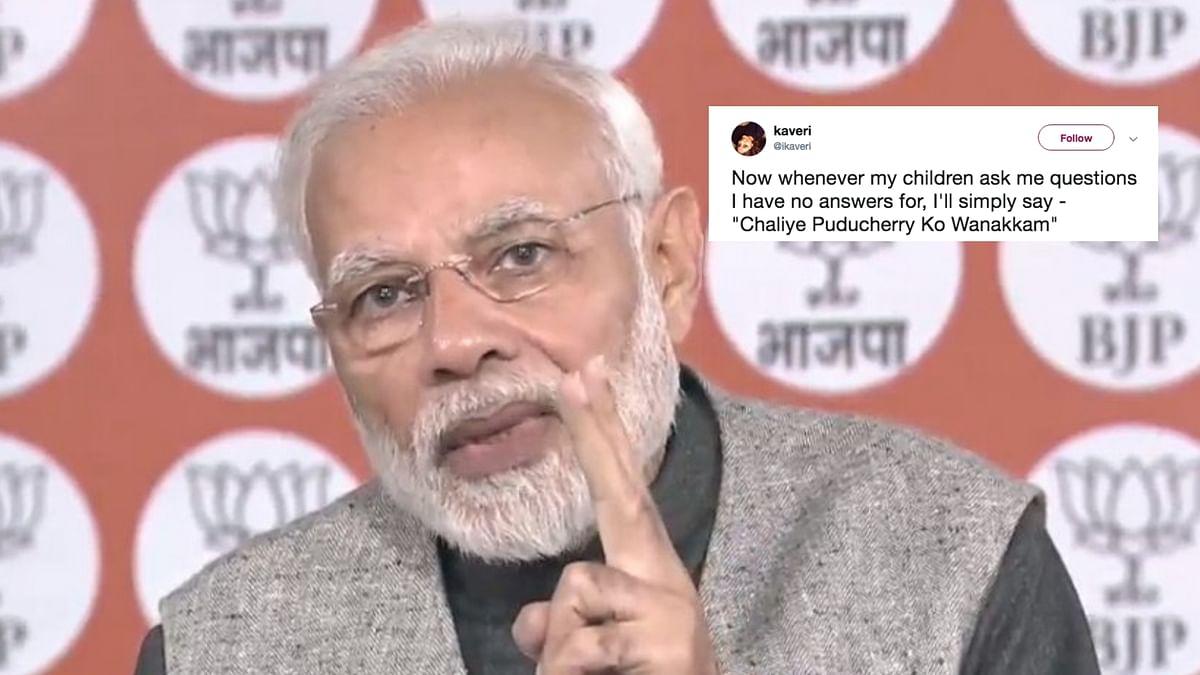 Consider Filtered Answers: Rahul's Jibe at Modi's Puducherry Gaffe