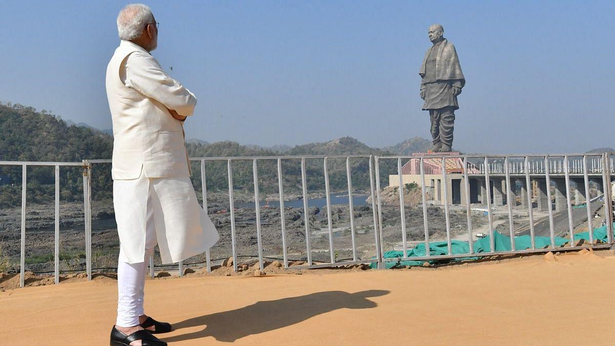 PM Narendra Modi unveiled Sardar Patel's 'Statue of Unity' in October.