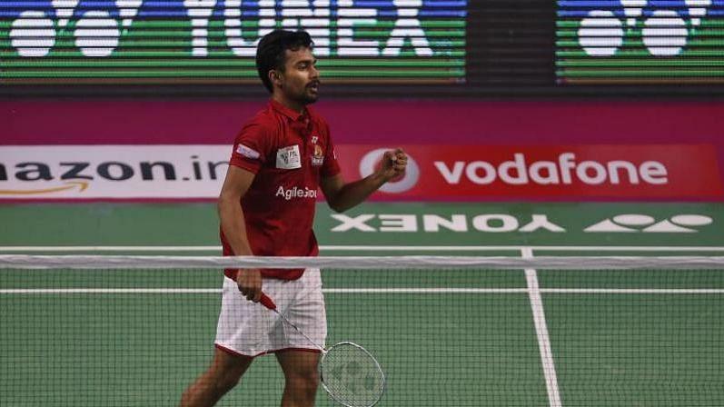 File photo of Indian badminton player Sameer Verma.
