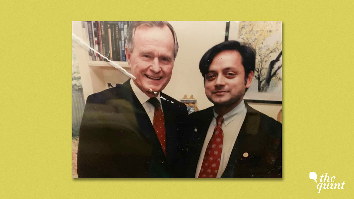 George HW Bush Was A Misunderstood Humble Globalist: Tharoor