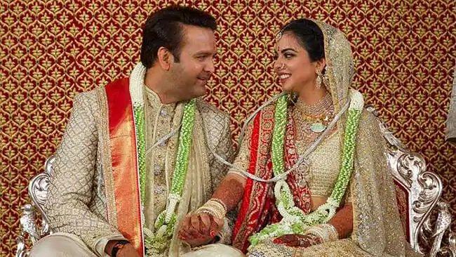 Isha Ambani and Anand Piramal tie the knot.