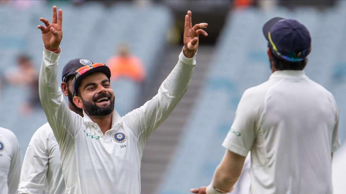 India took a 2-1 lead in the four-match Test series against Australia, with a win at Melbourne.
