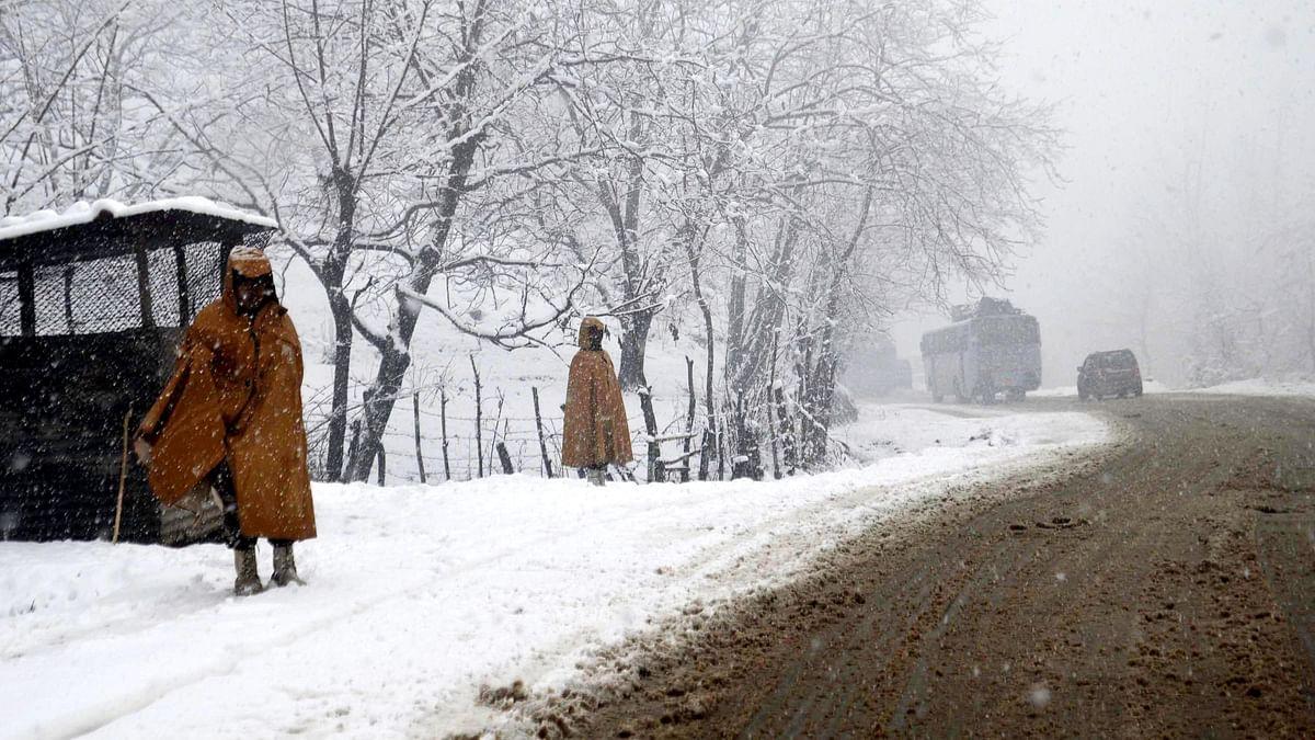 In Photos: Snowfall in Shimla and Kashmir Valley