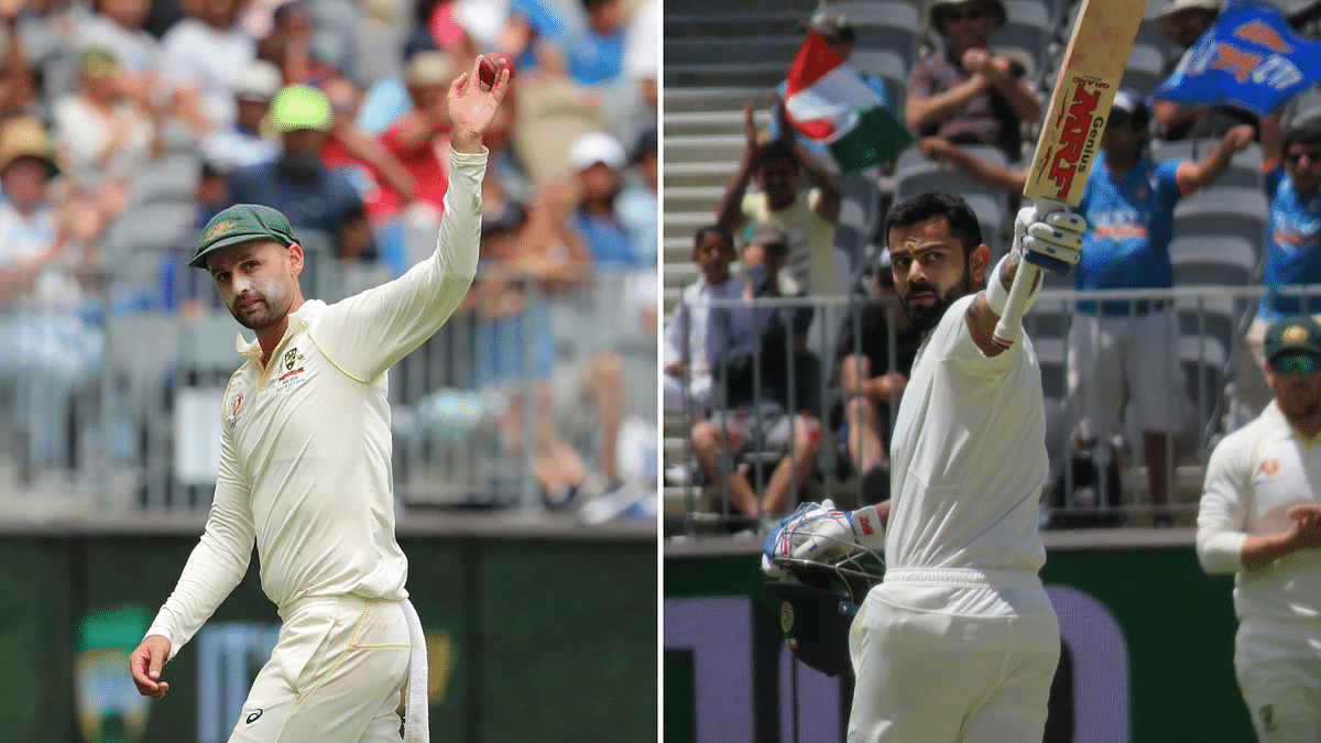 Perth Test, Day 3: Aus Claw Ahead With Lyon 5-For After Kohli 100