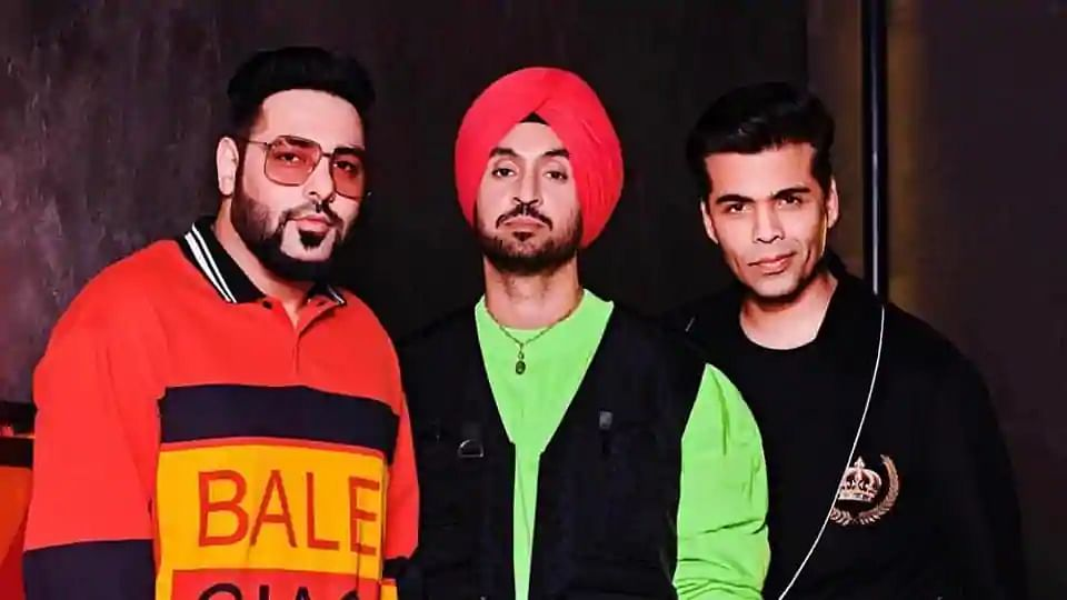 Koffee With Karan Is All Things Punjabi With Diljit and Badshah
