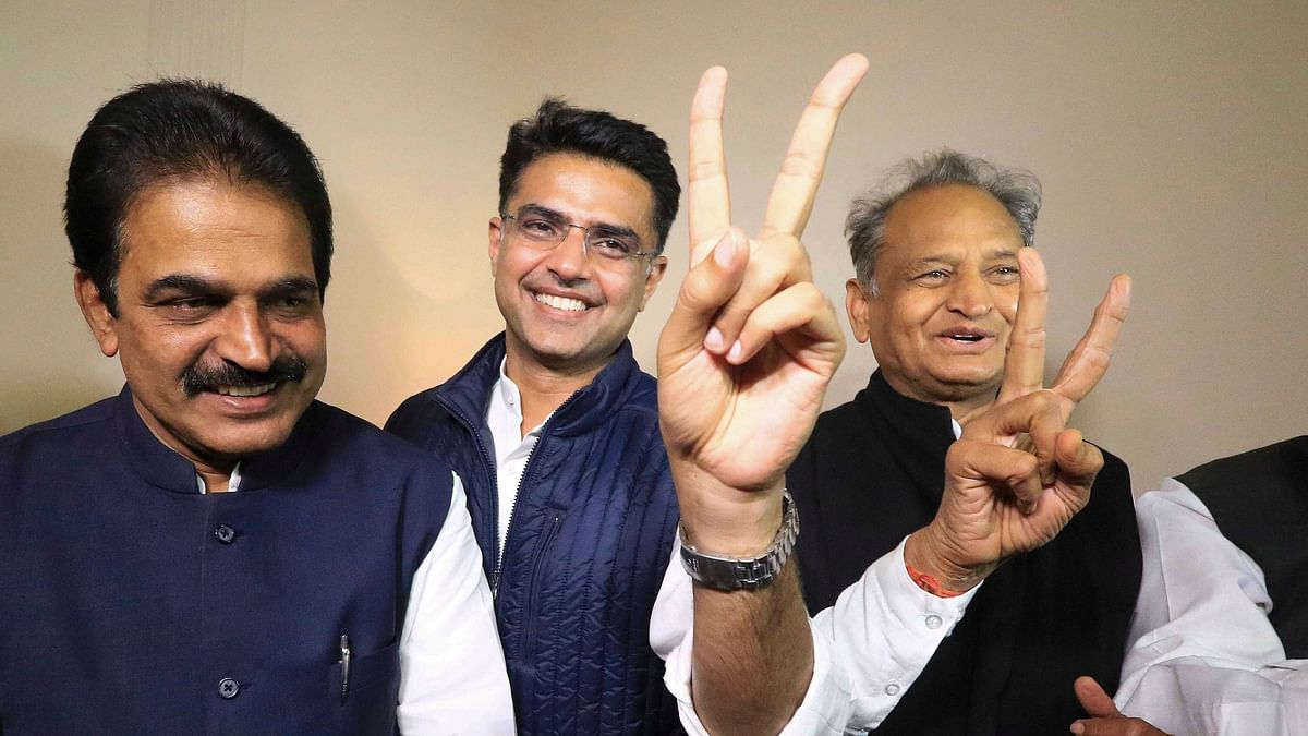 KC Venugopal was deputed by Congress President Rahul Gandhi to solve the impasse between Sachin Pilot and Ashok Gehlot after the Rajasthan elections in December 2018.