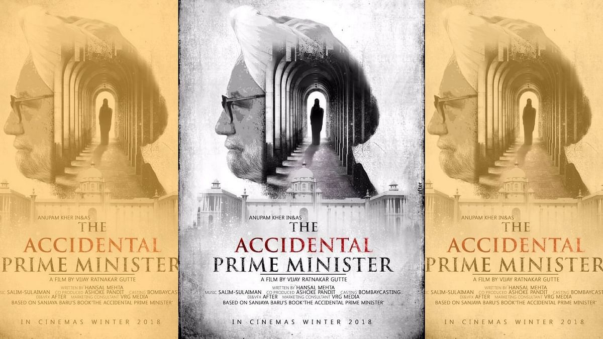 The first poster of <i>The Accidental Prime Minister.&nbsp;</i>