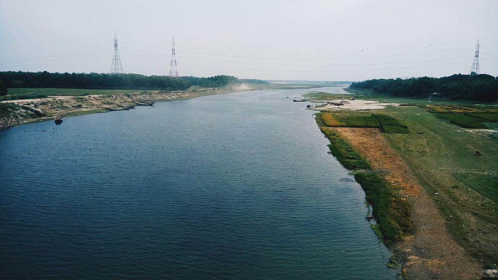 Image of Brahmaputra river used for representational purposes.