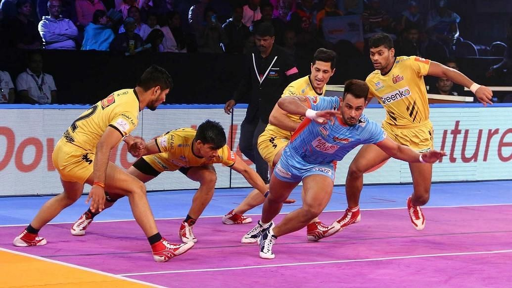 Pro Kabaddi: Bengal Warriors Beat Telugu Titans 39-34