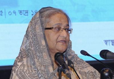 Bangladesh Prime Minister Sheikh Hasina. (File Photo: IANS)