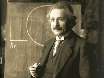 Physicist Albert Einstein.