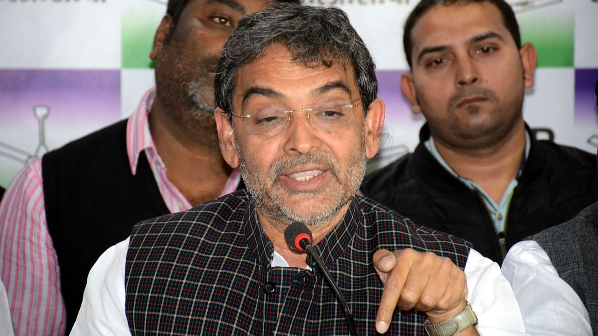 'BJP Implementing RSS Agenda': RLSP Chief Kushwaha Leaves NDA