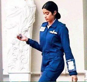 Jahnvi Kapoor as Gunjan Saxena
