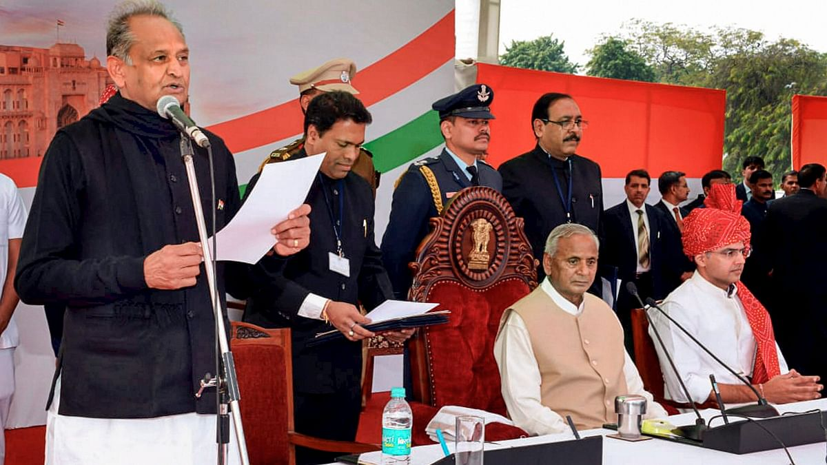 Rajasthan Cabinet Formation: 23 Old & New Guards Take Oath