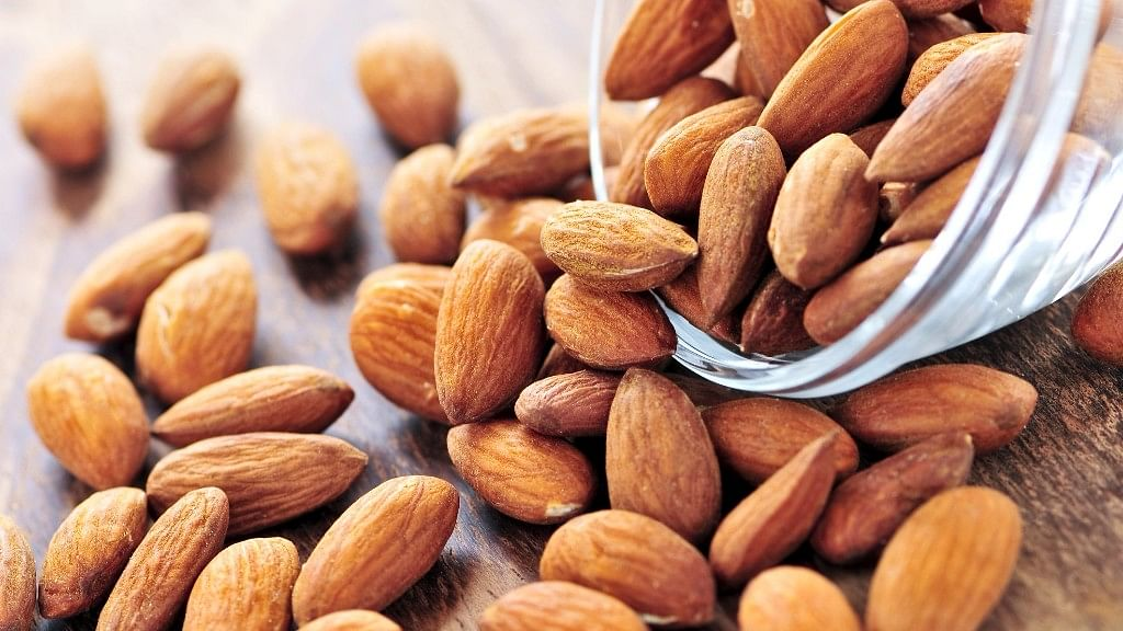 Eating almonds significantly reduces LDL and total cholesterol numbers.