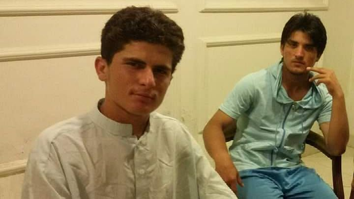 Shaheen Afridi's (left) big break came when he was selected for an under-15 age group trial being conducted in Peshawar.